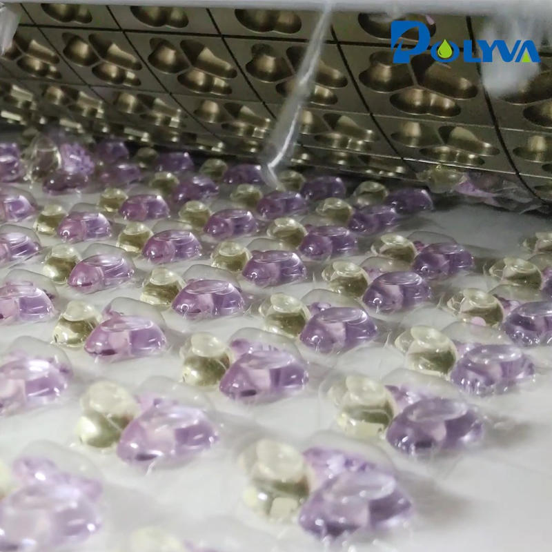固液混合的三腔洗衣凝珠是怎样生产的?