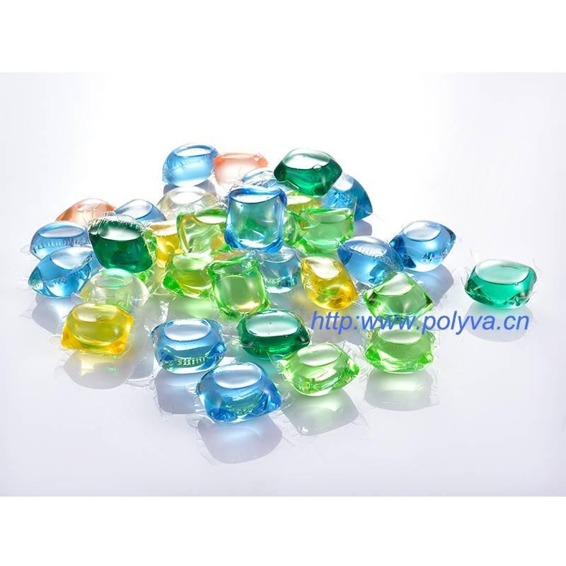 新型环保水溶包装洗衣凝珠专用水溶膜,聚乙烯醇薄膜,佛山博维厂家生产